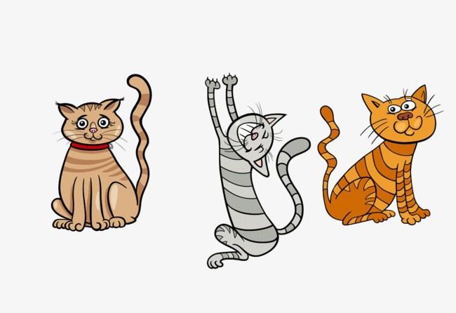 Three cats clipart 9 » Clipart Portal.