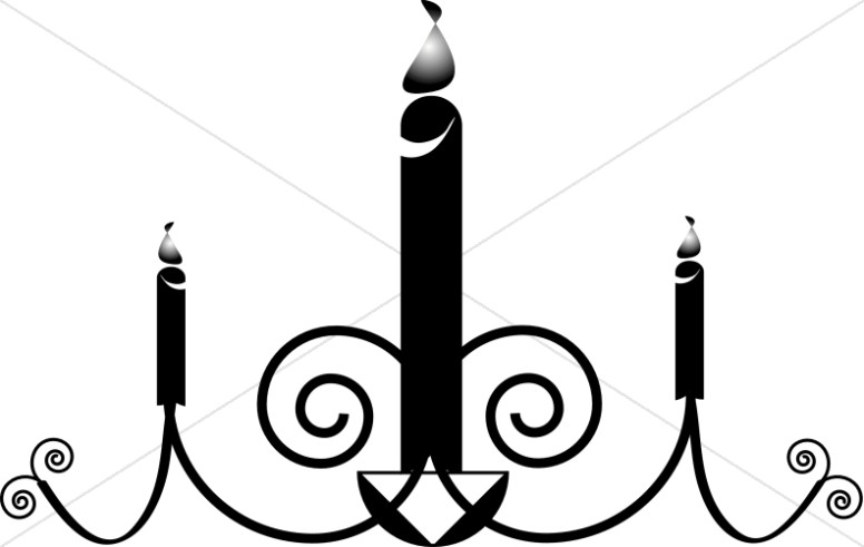Church Candle Clipart, Candle images.