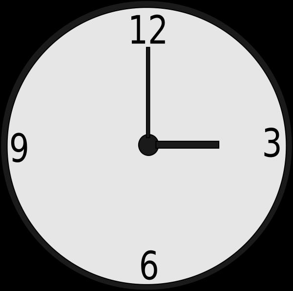Clock SVG Vector file, vector clip art svg file.