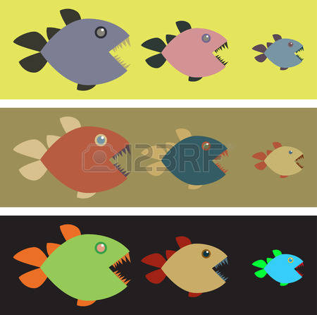 Three Colored Stock Vector Illustration And Royalty Free Three.