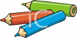 Three Colored Pencils.