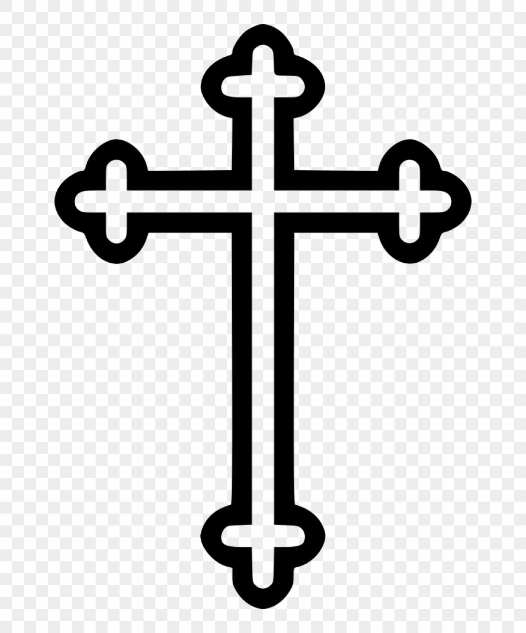 Catholic Cross Vector.