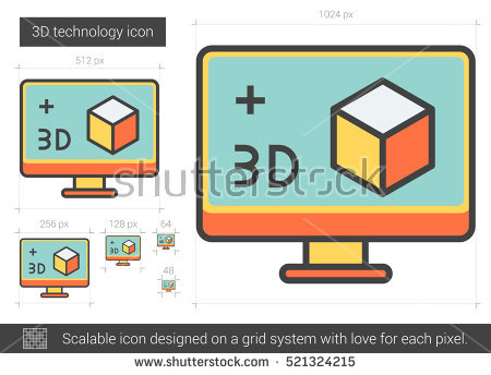 System Of A Grid Of Cubes Stock Photos, Royalty.