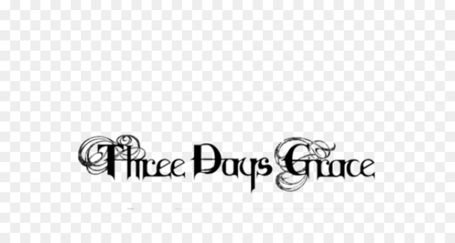 Three Days Grace Text png download.