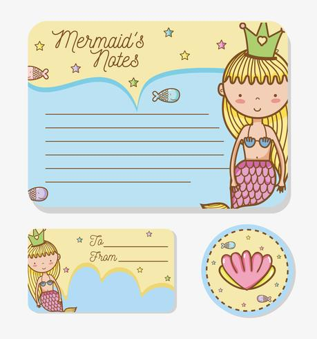 Mermaids printable sheet.