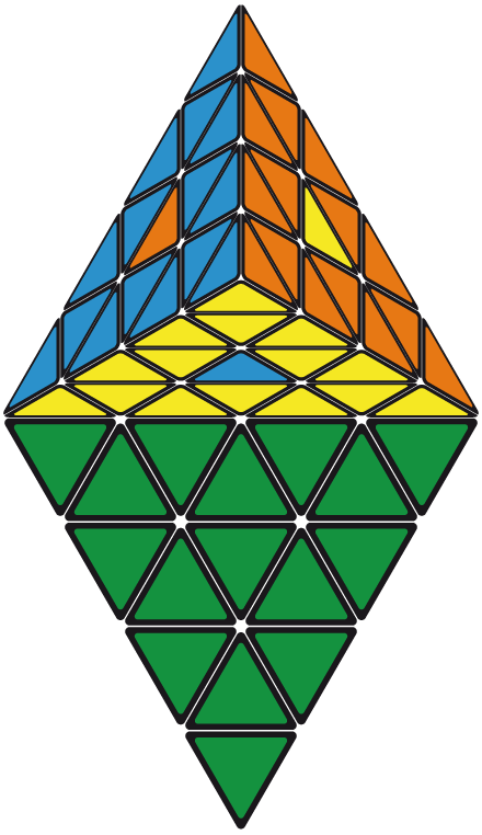 Pretty Patterns Master Pyraminx.