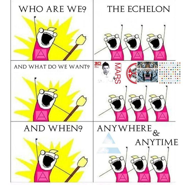 17 Best images about ECHELON on Pinterest.