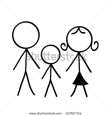 Simple Family Stock Vectors & Vector Clip Art.