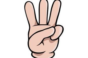 Three finger clipart 1 » Clipart Portal.