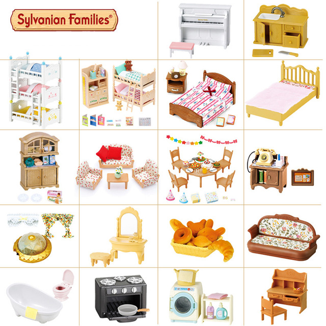 Sylvanian families Christmas Children's day Gift Pretend Play Toys.