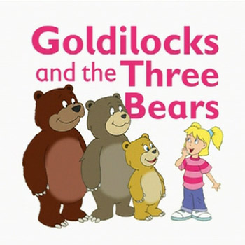 Three bears house clipart.