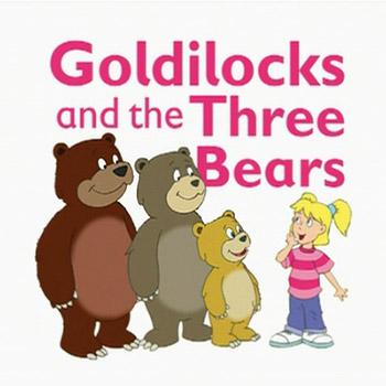 Three bears house clipart.