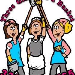 Three Girls and a Bucket.