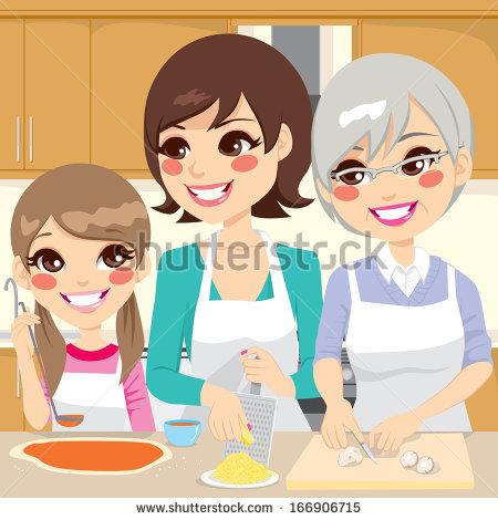 Senior Cooking Stock Vectors, Images & Vector Art.