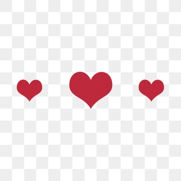 Three Hearts Png, Vector, PSD, and Clipart With Transparent.