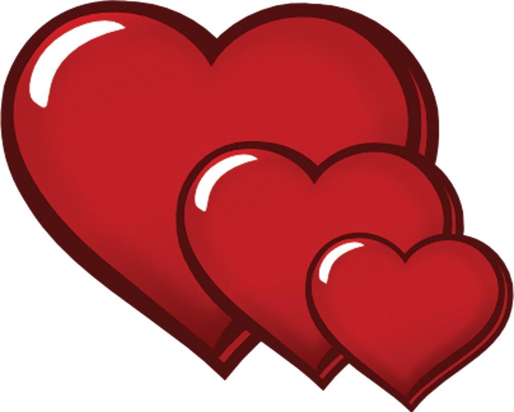 Three hearts clipart 5 » Clipart Portal.