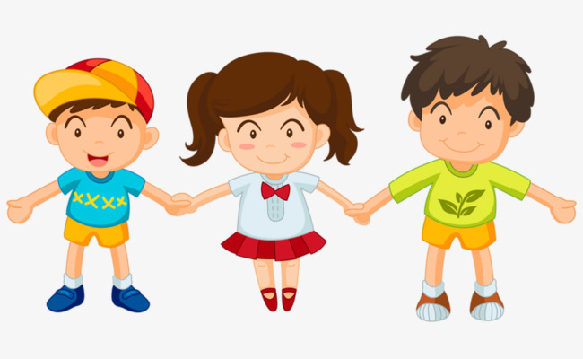 Three kids clipart 6 » Clipart Station.