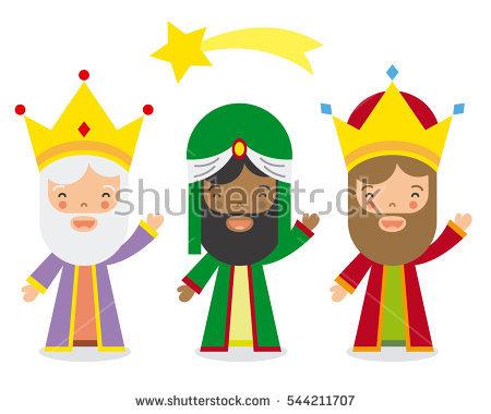 Three Kings Stock Photos, Royalty.