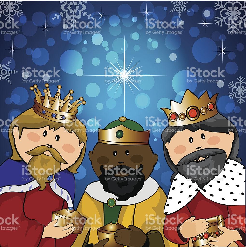 Three Kings stock vector art 459896739.
