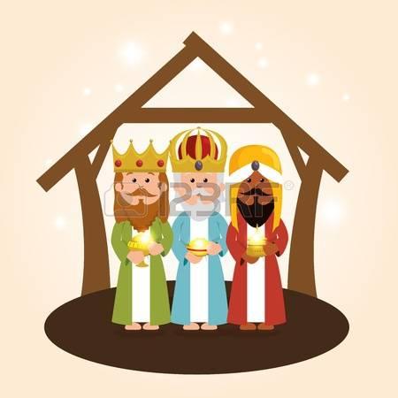 Three king church clipart #2
