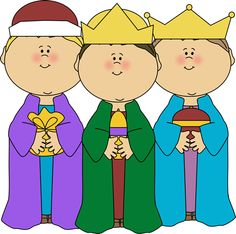 Three kings clipart.
