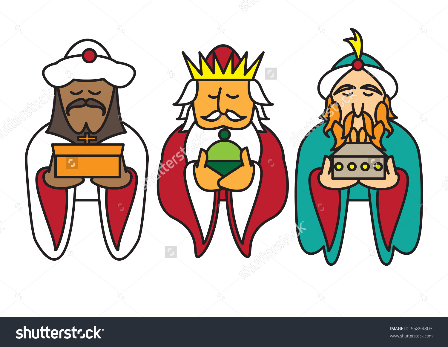 Three Kings Day Clipart (49 ).