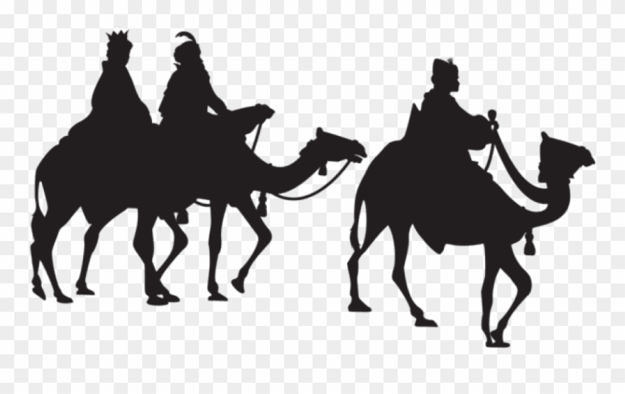 Free Png Three Kings Silhouette Png Images Transparent.