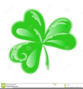 Three Leaf Clover Clipart.