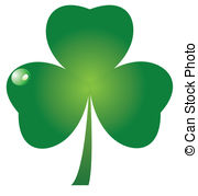 Three Leaf Clover Clipart Clipground