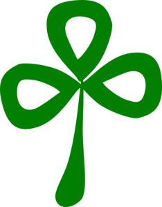 Three Leaf Clover Clip Art at Clker.com.