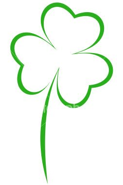 3 Leaf Clover Drawing at GetDrawings.com.