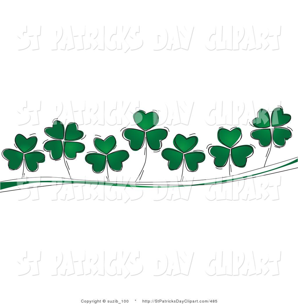 Free 4 Leaf Clover Clip Art Pictures.