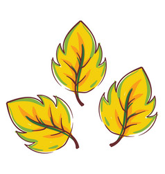 Clipart Three Leaves Vector Images (32).