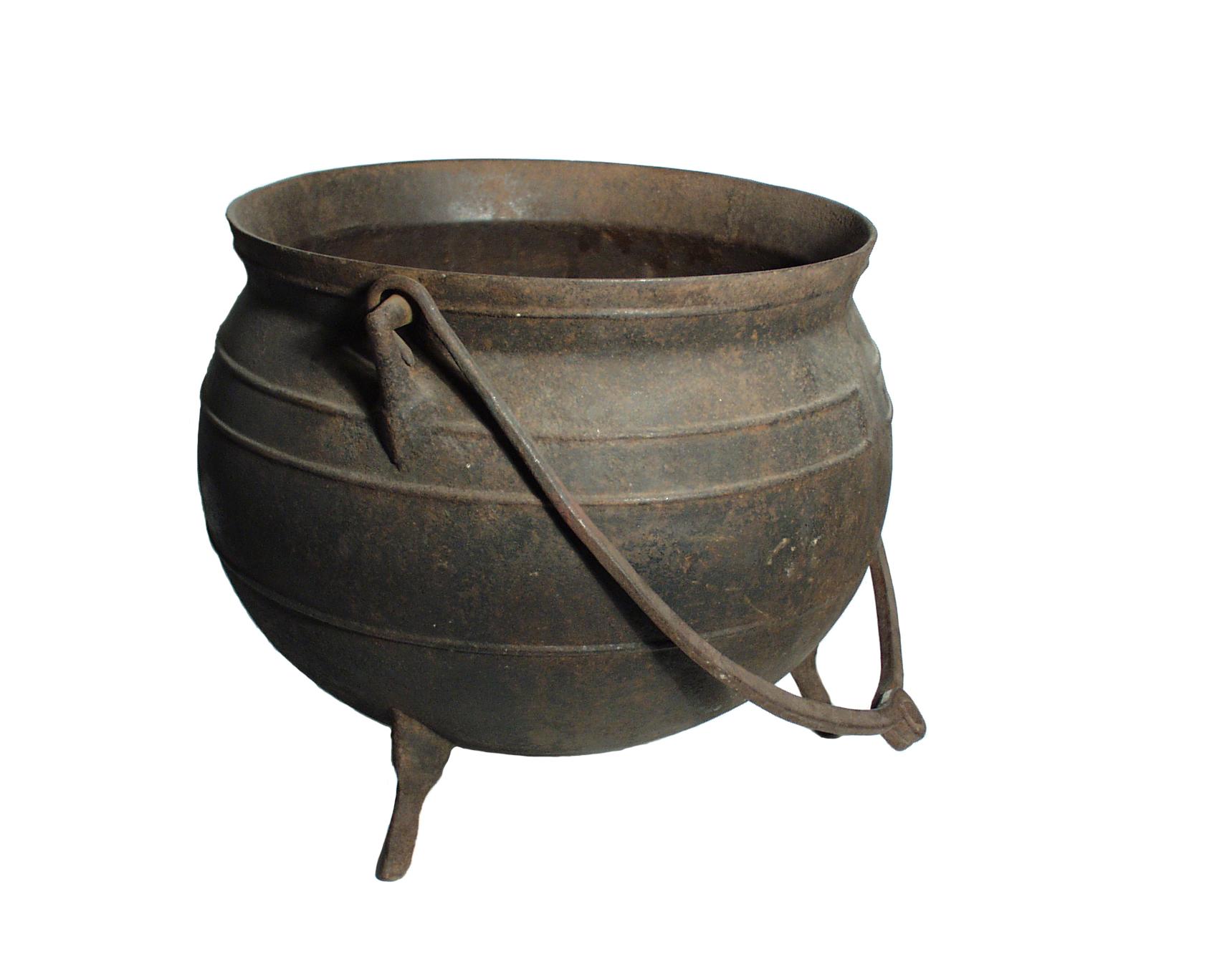 Three Legged Pots.