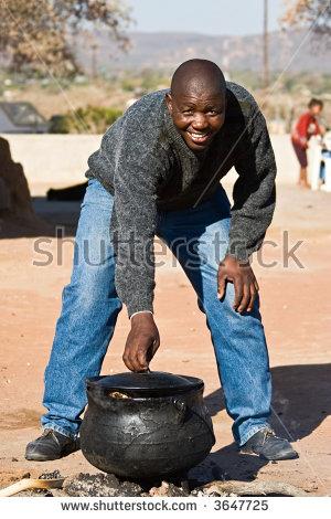 African Pot Stock Photos, Royalty.
