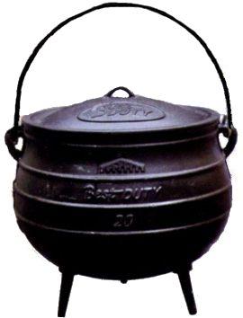 3 Legged Pot.