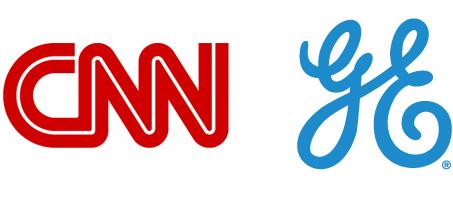 Lookalike letters make a daring logo.