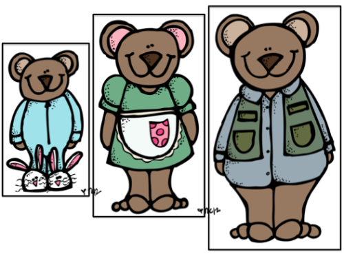 Clipart bear the three little, Clipart bear the three little.