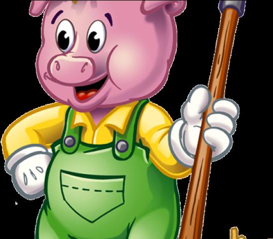 Pig Clipart Grandma.