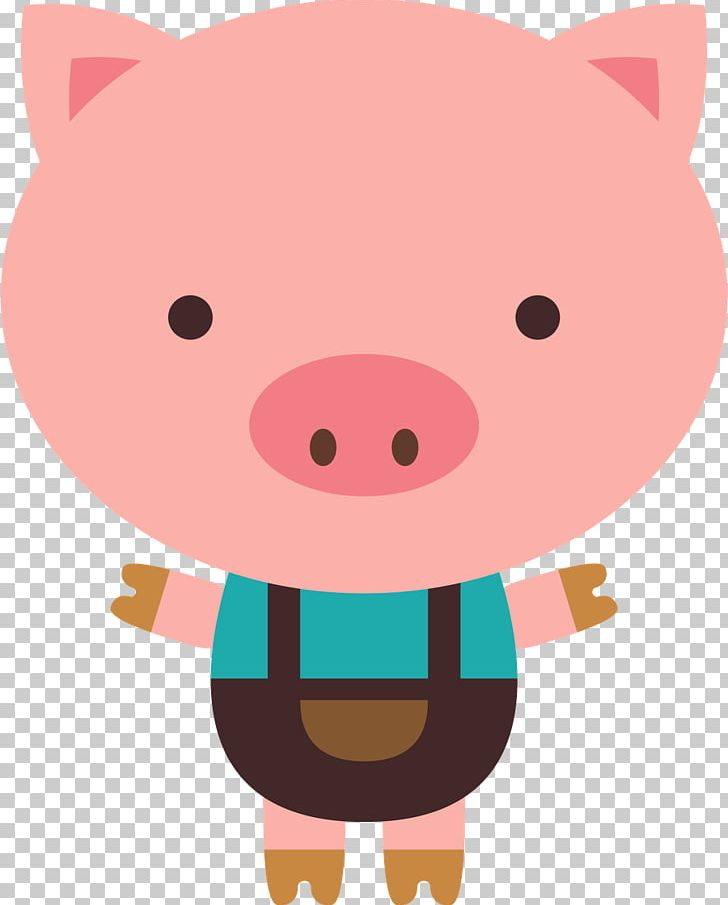 The Three Little Pigs Big Bad Wolf PNG, Clipart, Animals.