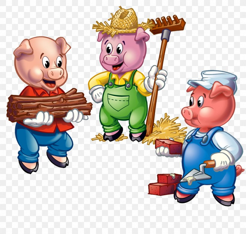 The Three Little Pigs Big Bad Wolf The True Story Of The 3.