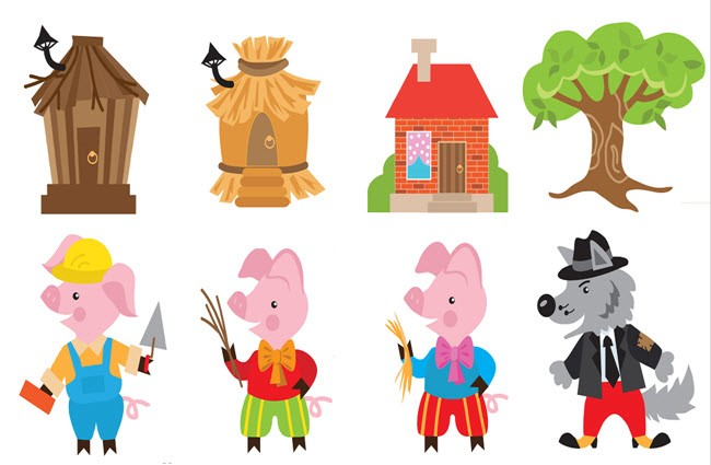 Three Little Pigs Clipart at GetDrawings.com.