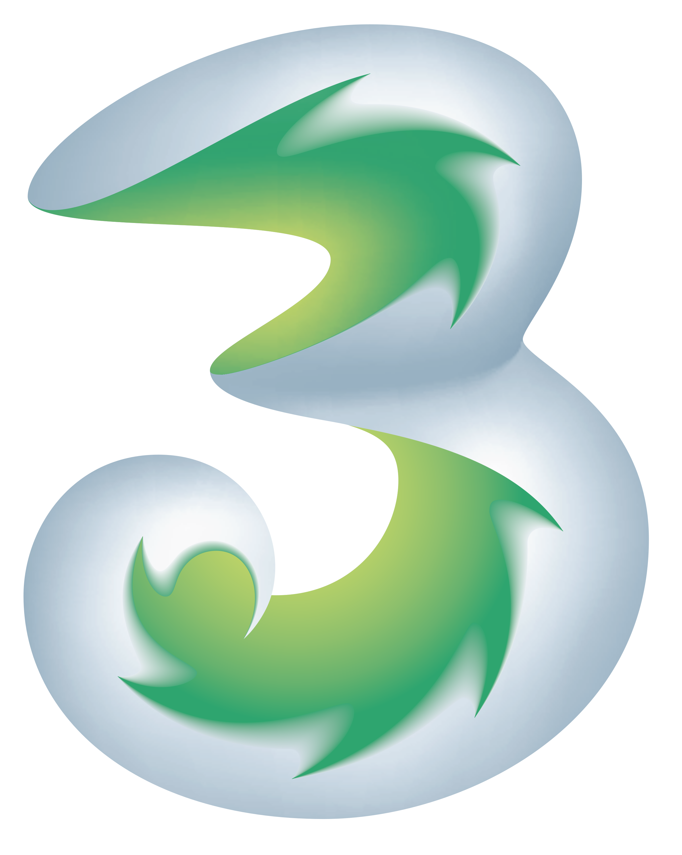 3 Mobile Logo PNG Transparent & SVG Vector.