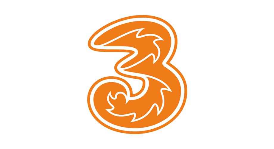Three Logo Download.