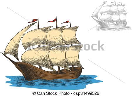 Barque Clipart.