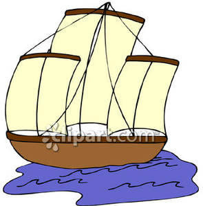 a_three_masted_schooner_on_the_water_royalty_free_080903.