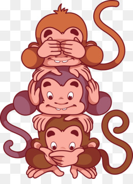 Three Wise Monkeys PNG and Three Wise Monkeys Transparent.