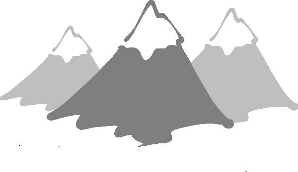 New High Def Mountain Clip Art at Clker.com.
