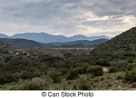 Stock Photographs of Three Mountains View.