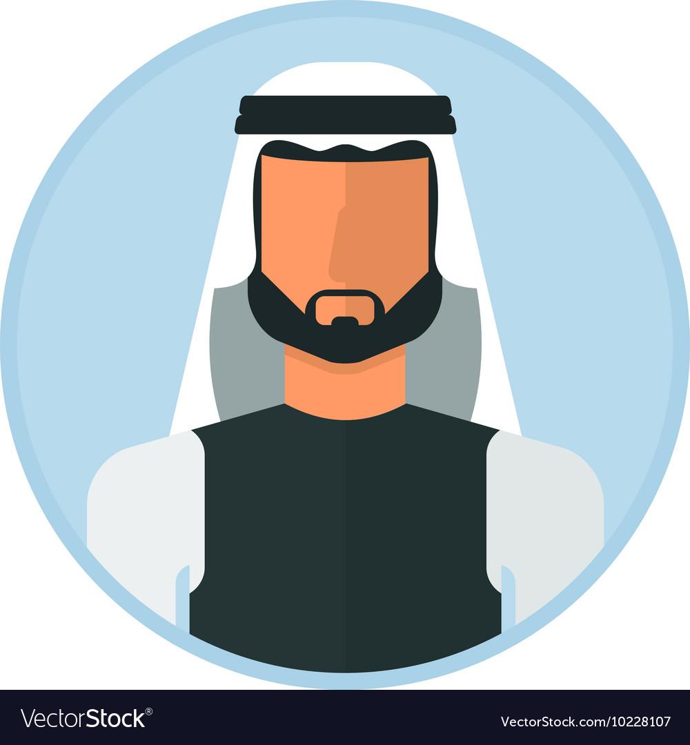 Arabic muslim man.